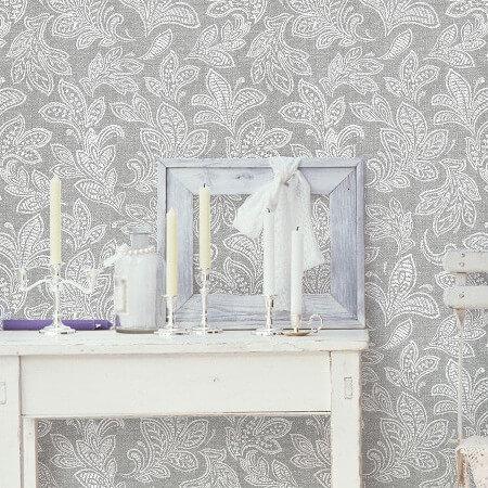 Boutique Cotton Wallpaper Collection