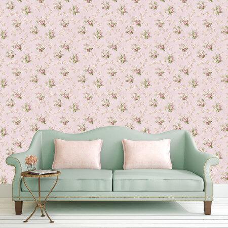 Tudor Rose Wallpaper Collection