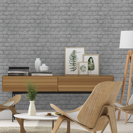 Brick, Stone & Slate Wallpaper