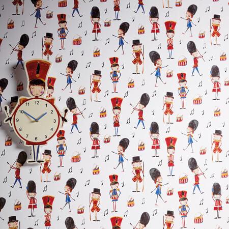 Kids Playroom Wallpaper