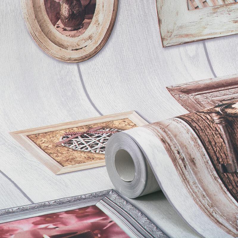 Muriva Home Sweet Home Frames Wallpaper - 102566