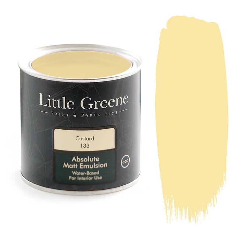Little Greene Paint in Custard