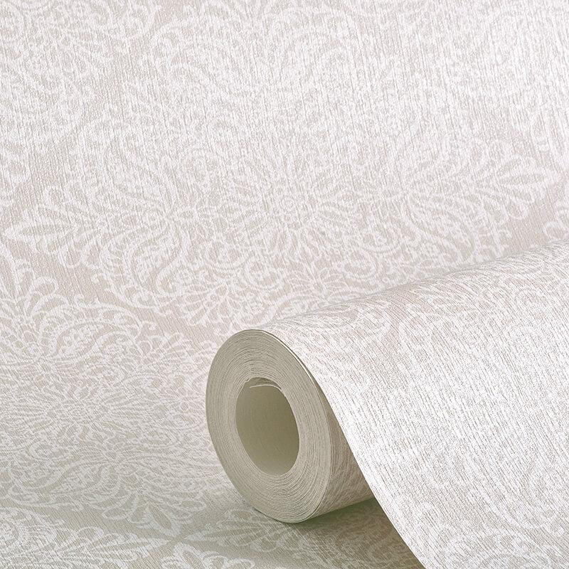 Arthouse Celestial Damask Natural Glitter Wallpaper - 256800