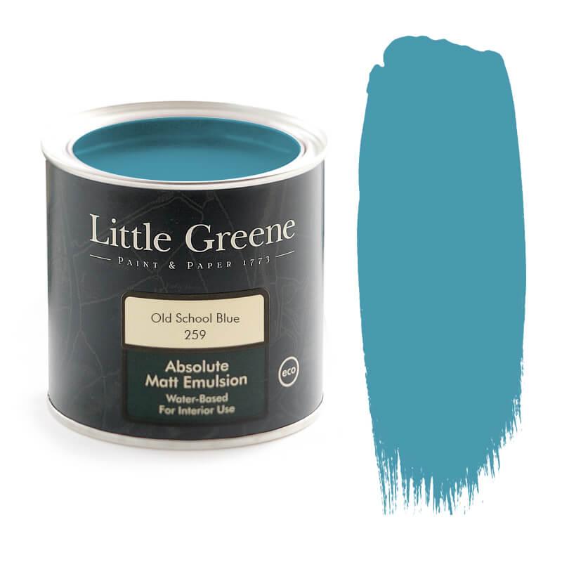 Little Greene Paint in Old School Blue