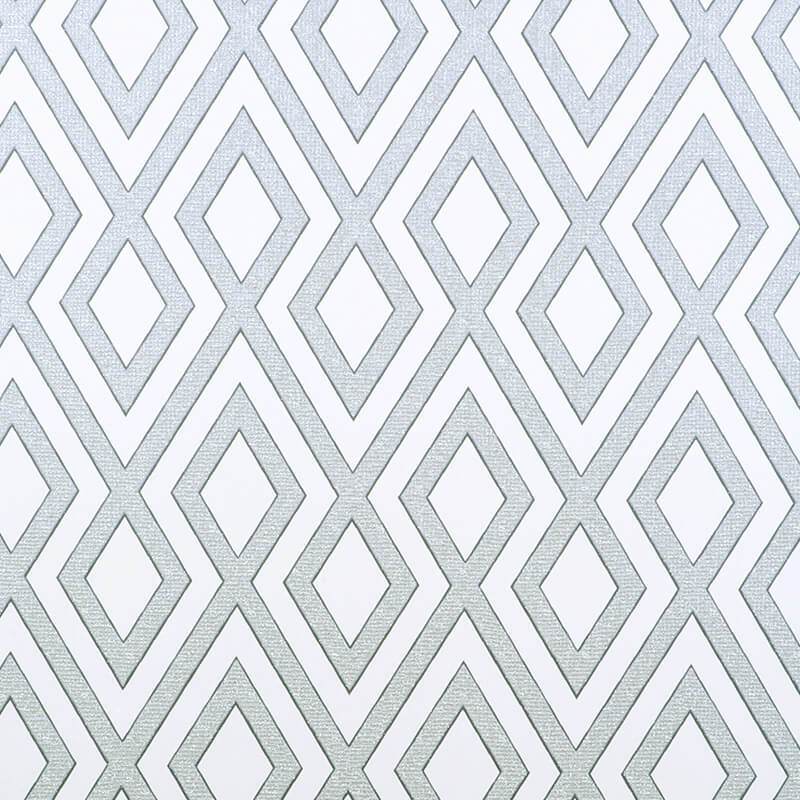 Erismann Geometric Grey Glitter Wallpaper - 4629-29