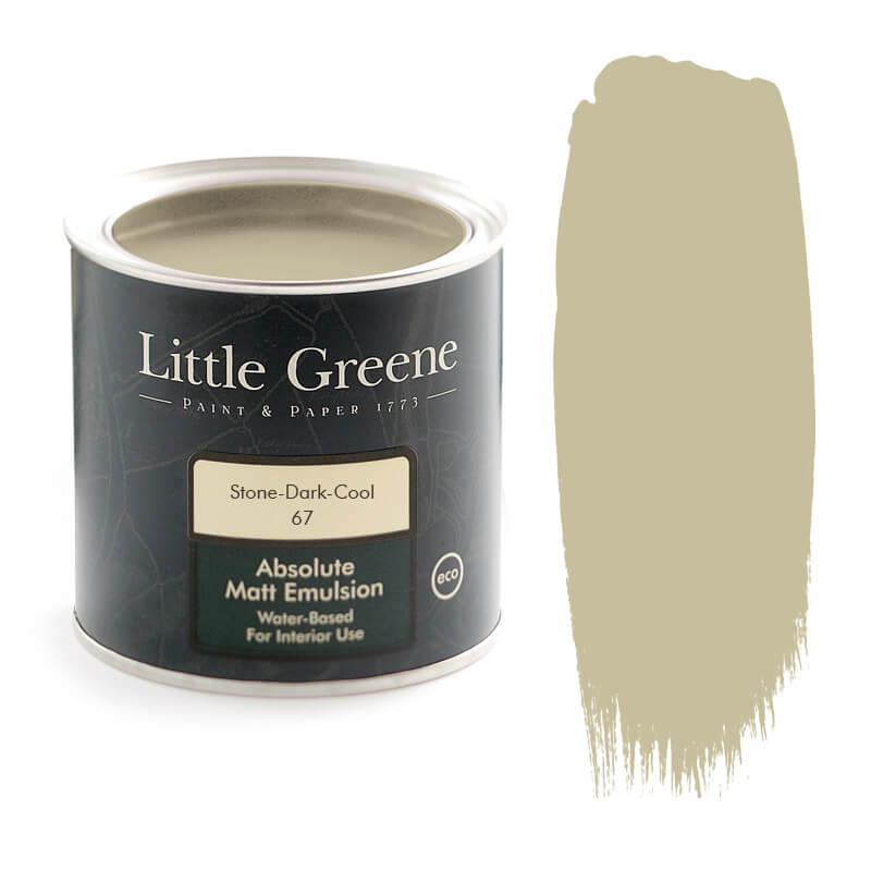 Little Greene Paint in Stone Dark Cool