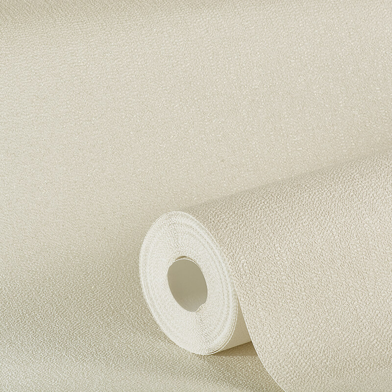 Arthouse Plain Cream Glitter Wallpaper - 892104