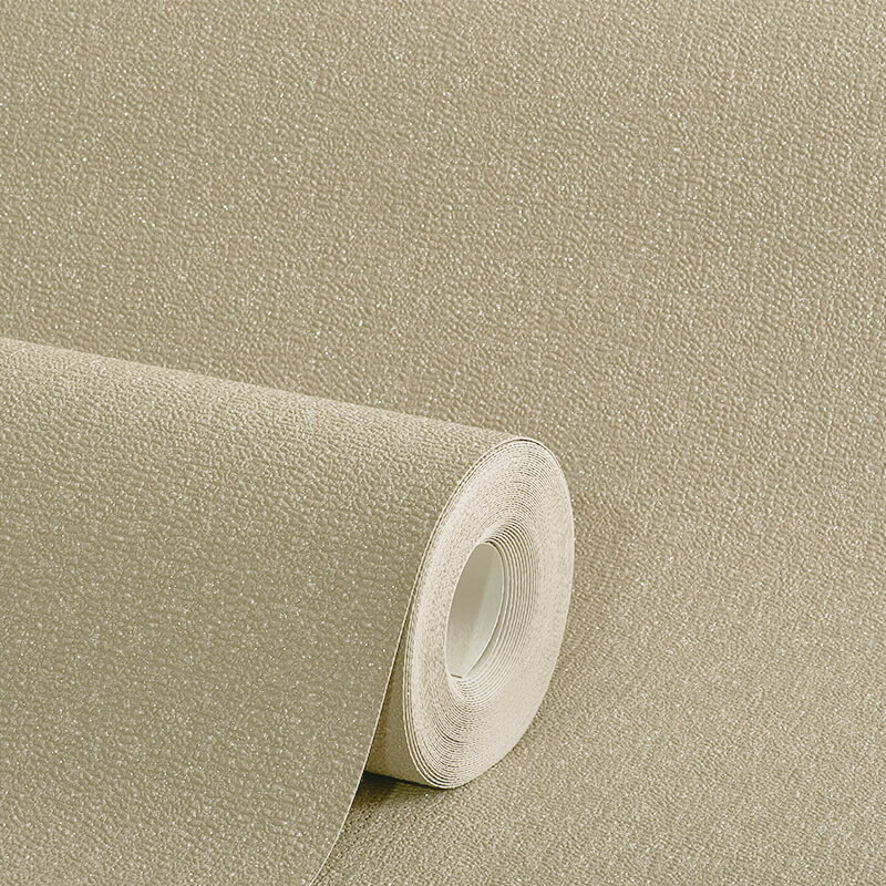 Arthouse Plain Mink Glitter Wallpaper - 892201