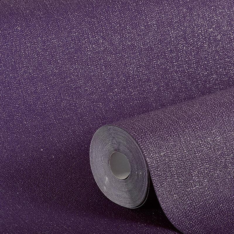 Arthouse Plain Purple Glitter Wallpaper - 892205
