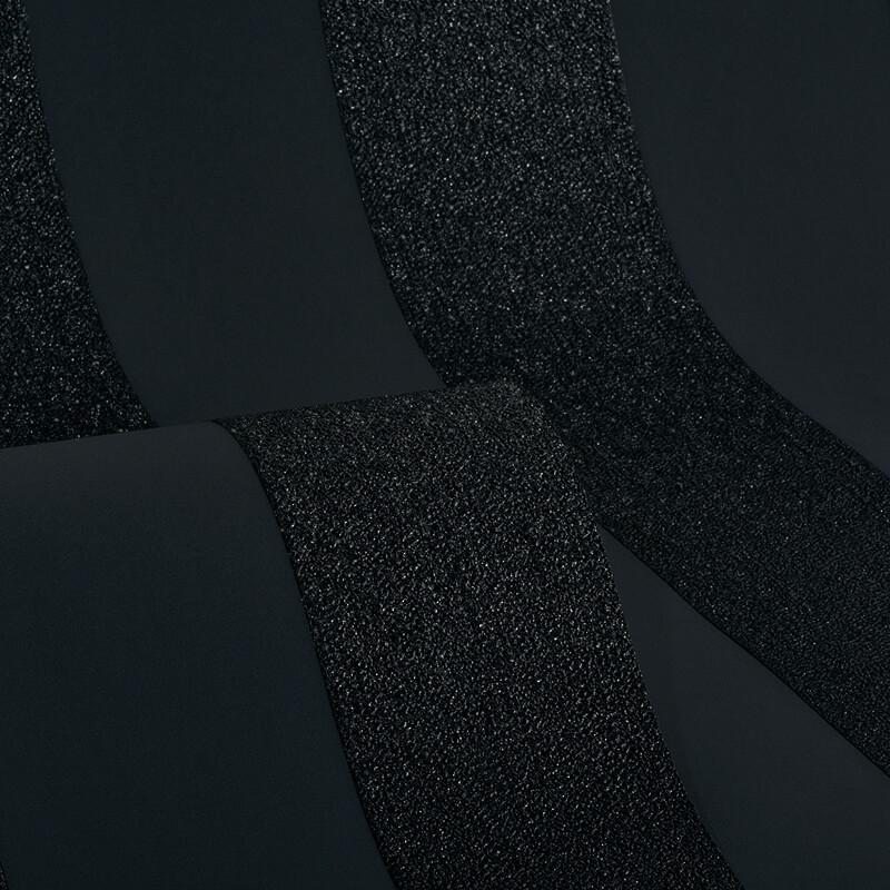 Arthouse Stripe Black Glitter Wallpaper - 892500