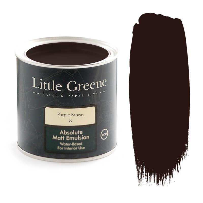 Little Greene Paint in Purple Brown