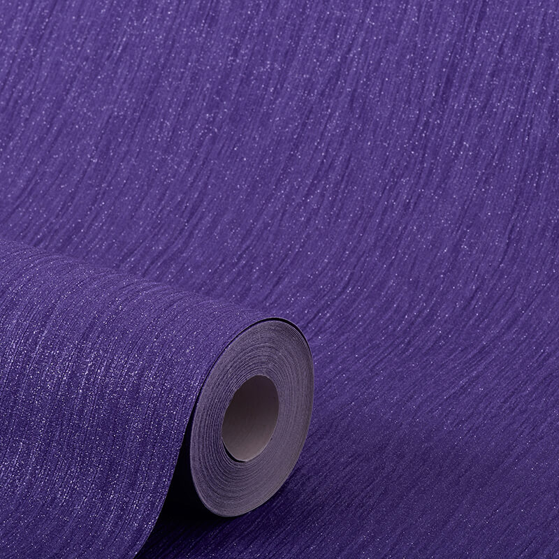 Debona Crystal Plain Purple Glitter Wallpaper - 9004