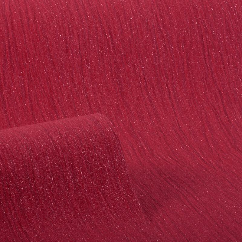 Debona Crystal Plain Red Glitter Wallpaper - 9005