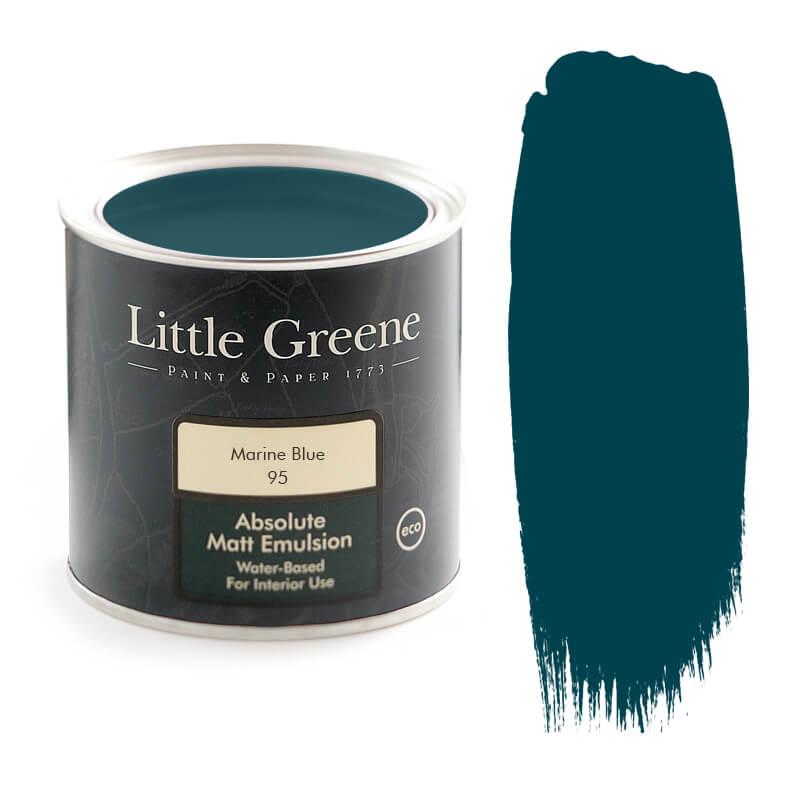 Little Greene Paint in Marine Blue