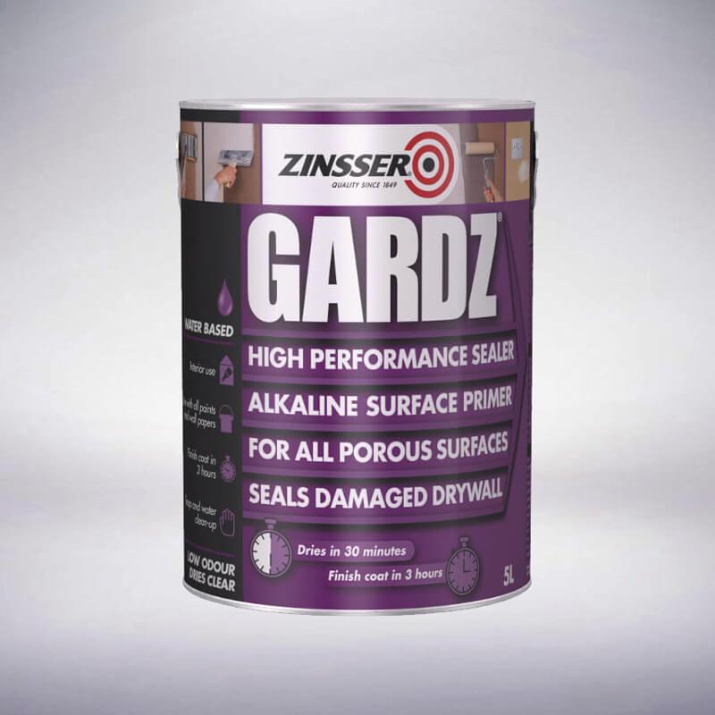 Zinsser Gardz High Performance Sealer - 5 Litre
