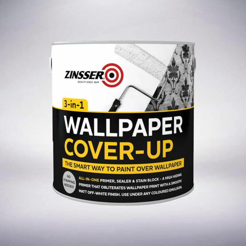 Zinsser Wallpaper Cover-Up White Matt - 2.5 Litre