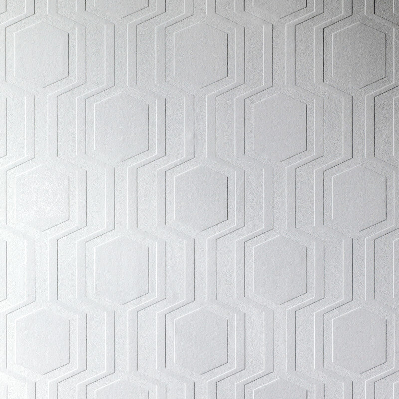 Anaglypta luxury textured vinyl wallpaper geo rd5644 for Vinyl wallpaper for walls