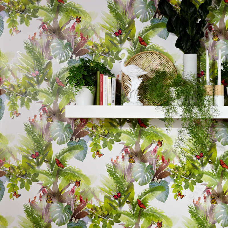 Arthouse Amazonia Tropical Leaf Citrus Wallpaper - 690300