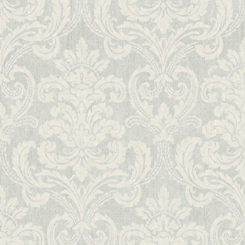 Arthouse Bari Damask Dove Glitter Wallpaper - 291902