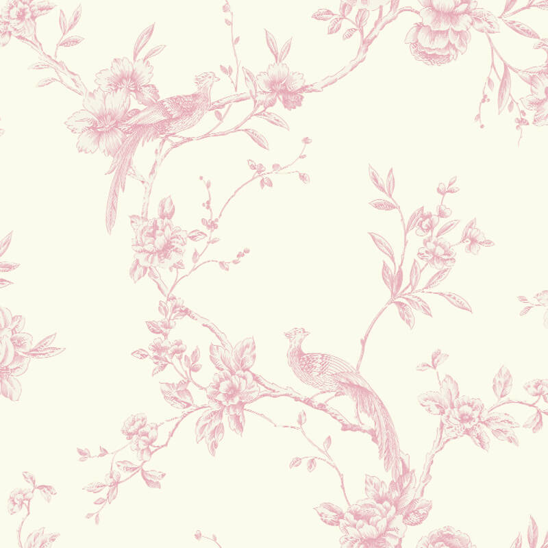Arthouse Chinoise Wallpaper in Pink - 422802