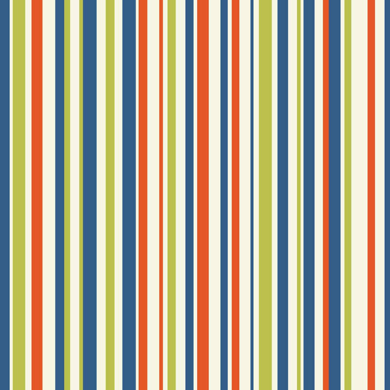Arthouse Earn Your Stripes Wallpaper in Multi - 668701