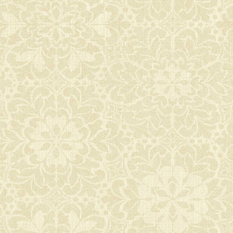Arthouse Empress Motif Cream Glitter Wallpaper - 291701