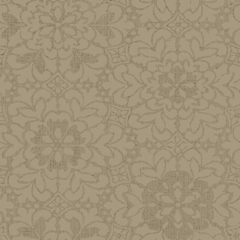 Arthouse Empress Motif Old Gold Glitter Wallpaper - 291703