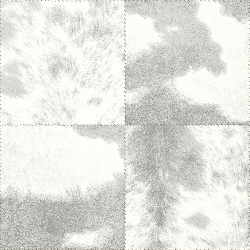 Arthouse Hideaway Squares Grey Wallpaper - 669300