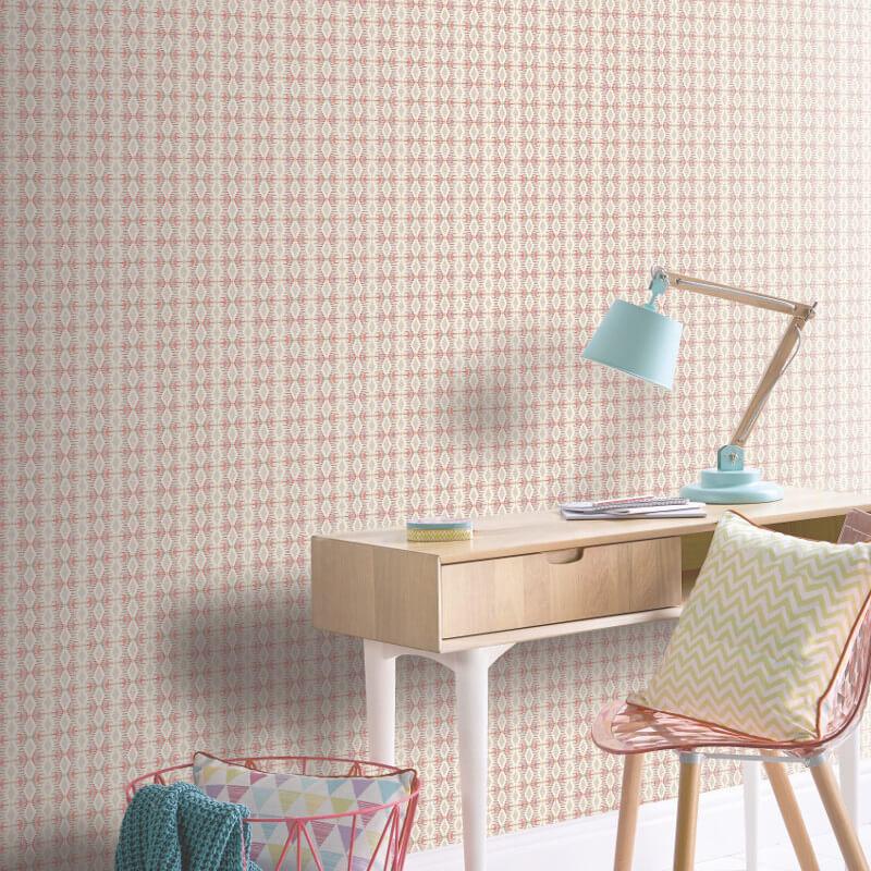 Arthouse India Stripe Multi Wallpaper - 698600