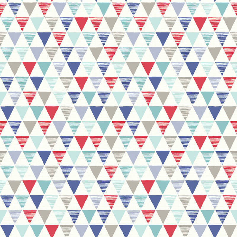 Arthouse Jester Red/Blue Wallpaper - 696007