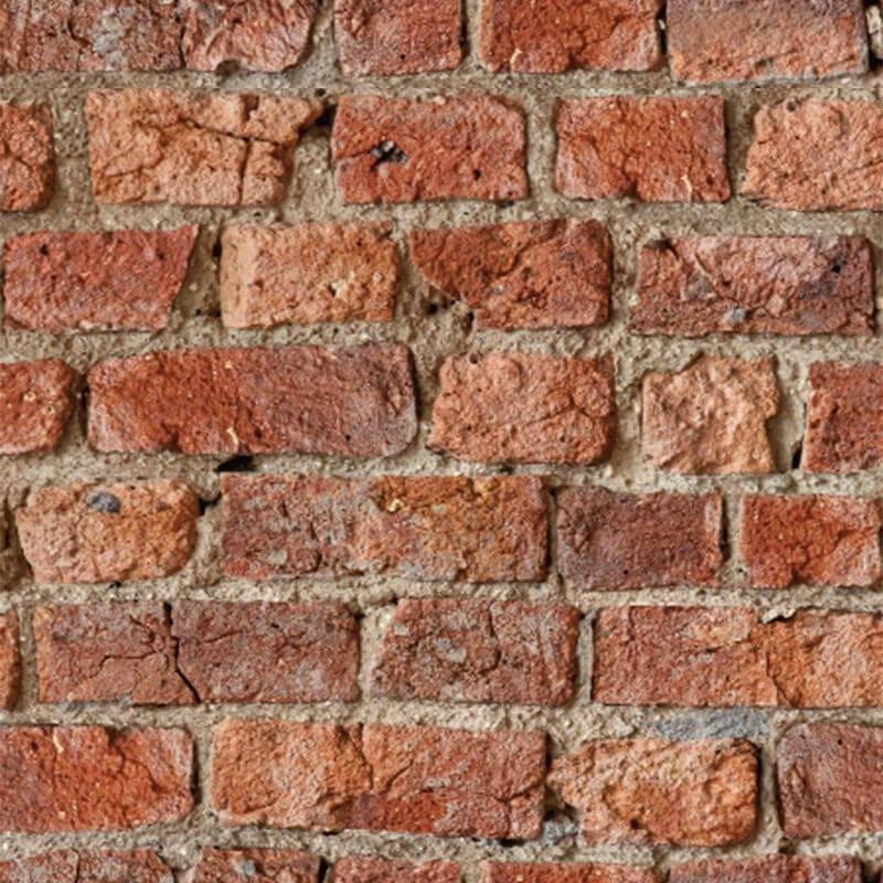 Arthouse Opera Urban Brick Red Wallpaper - 696600