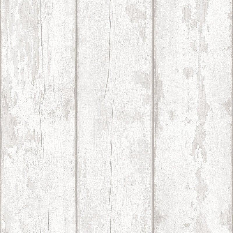 Arthouse Opera Washed Wood Grey Wallpaper - 694701