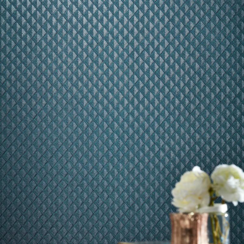 Arthouse Piccolo Blue/Green Glitter Wallpaper - 292200