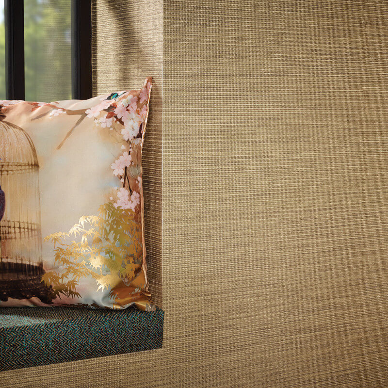Arthouse Suki Plain Gold Wallpaper - 293101