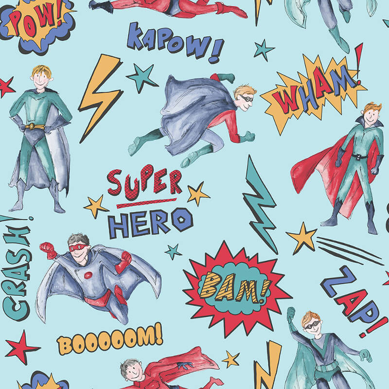 Arthouse Superhero Blue Wallpaper - 696200