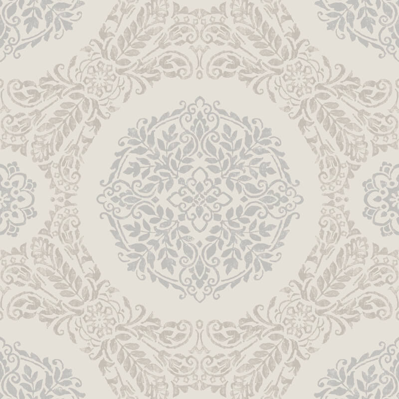Arthouse Timour Glitter Wallpaper in Pearl - 673701