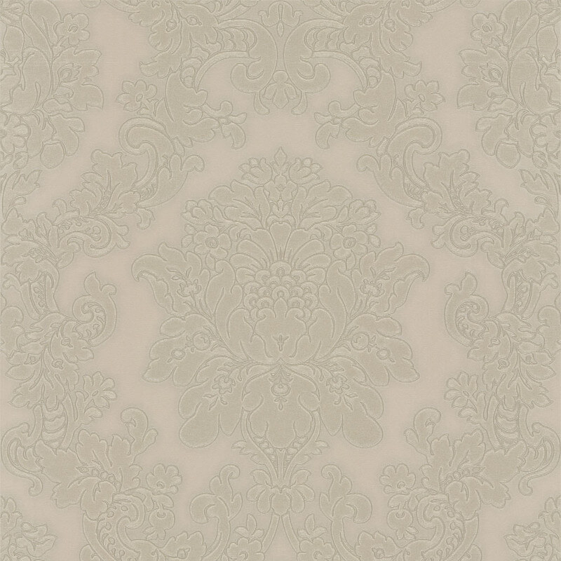 Arthouse Vicenza Damask Wallpaper in Taupe - 270402