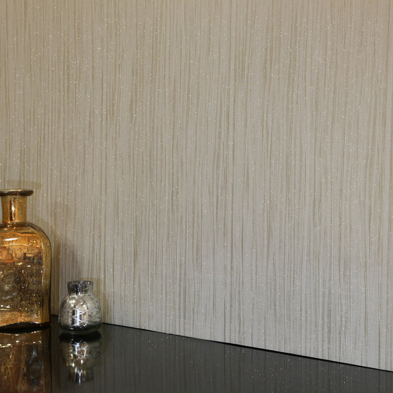 Arthouse Vicenza Plain Wallpaper in Taupe - 270502