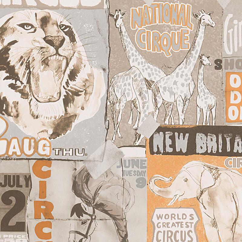 AS Creation Circus Natural Wallpaper - 958402