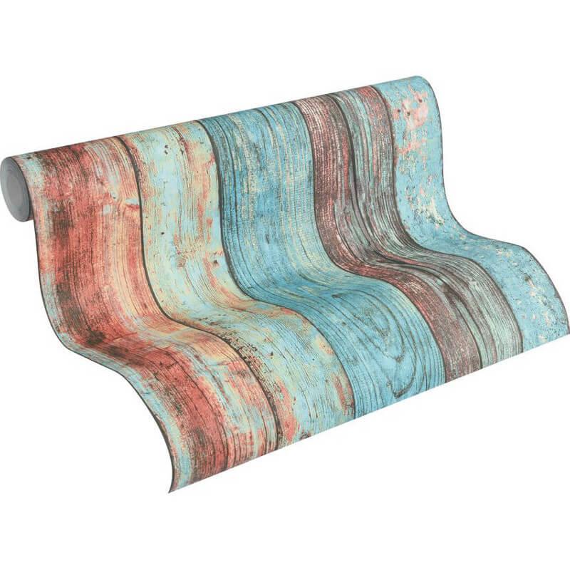 AS Creation Wood Panel Multi Wallpaper - 307231