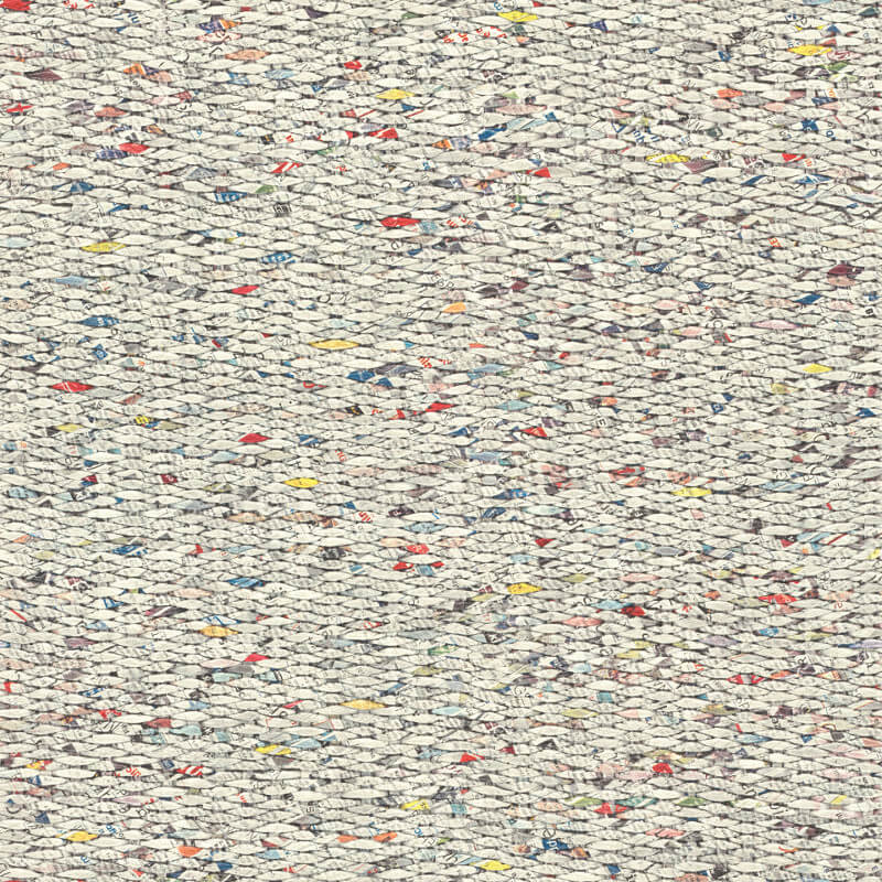 Barbara Becker Woven Papers Multi Wallpaper - 862300