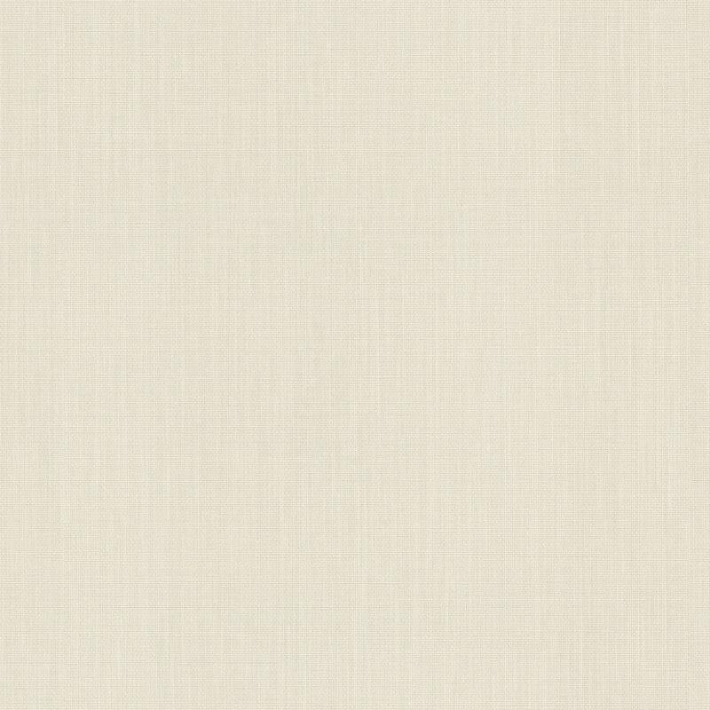 Barbara Schöneberger Cotton Texured Plain Cream Wallpaper - 527230