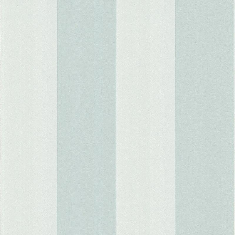 Little Greene Broad Stripe Wallpaper in Fondre