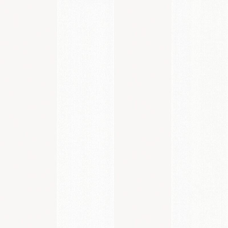 Little Greene Broad Stripe Wallpaper in Icing