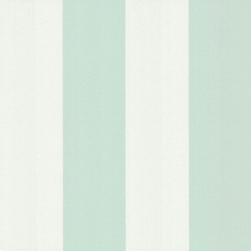 Little Greene Broad Stripe Wallpaper in Menthe