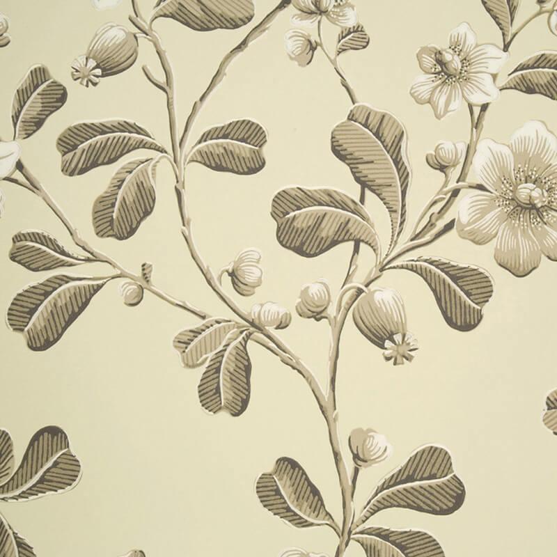 Little Greene Broadwick Street Wallpaper in Apple