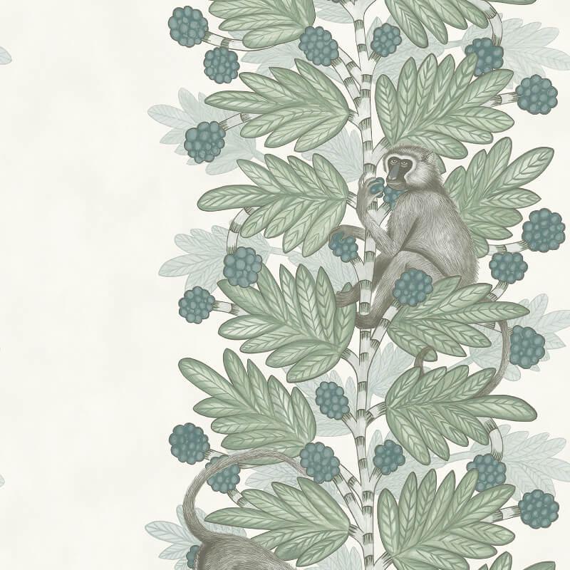 Cole & Son Acacia Blue/Green Wallpaper - 109/11052