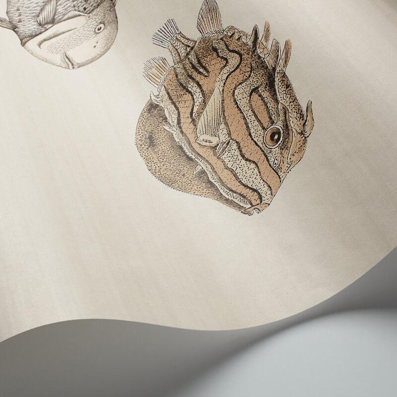 Cole & Son Acquario Soft Neutral Wallpaper - 97/10031