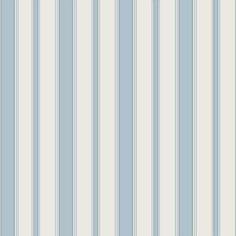 Cole & Son Cambridge Stripe Pale Blue Wallpaper - 110/8039