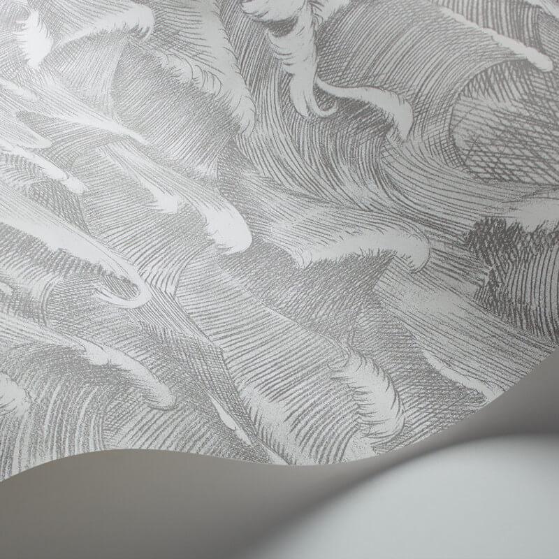 Cole & Son Columbus Black/White Wallpaper - 103/13055